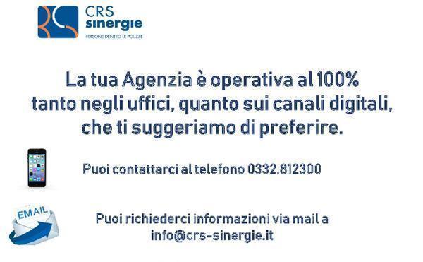 La tua Agenzia è operativa al 100%